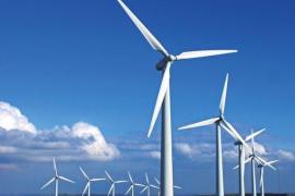 辽宁建平奎德素风电项目并网发电