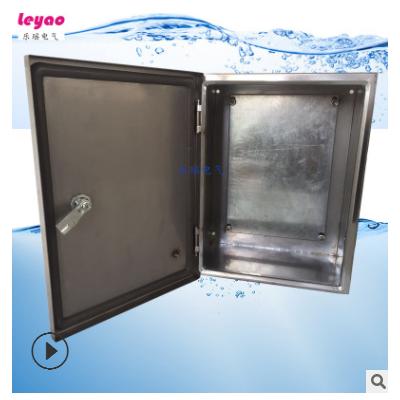 防水不锈钢控制箱IP66 304配电箱 基业箱电源检修箱 600*600*250