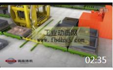 02:35 铸造流水线工业动画网