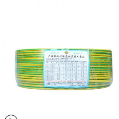 批发零售绿灯行电缆 铜塑线家装bv单股绿灯行电缆 绿灯行bv电线