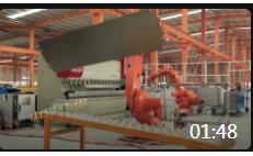 01:48 4k大高清常州机器人工业自动化流水线流程替代人工
