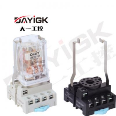 继电器底座DFS11-E PF113A MK3P底座 继电器插座
