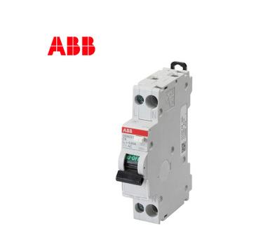 ABB断路器GSN201系列漏电保护开关6KA单模1P+N紧凑型25A意大利DPN