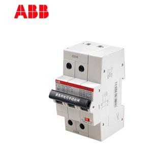 ABB微型断路器SH200ARVP系列6KA自恢复过欠压1P+N空开C特性63A