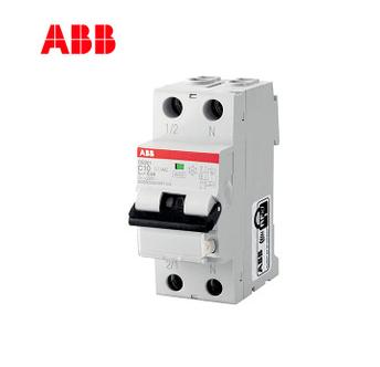 ABB断路器DS201系列20A漏电保护开关6KA电磁式1P+NDS201 C20 A30