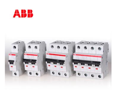 ABB正品微型断路器S200系列6KA4P四极100A空气开关C特性S204-C100