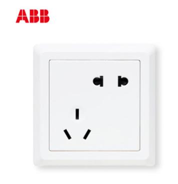 ABB开关插座德逸系列五孔插座AE205;10072400
