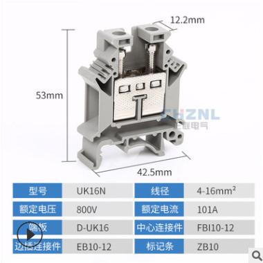 厂家直销 快速端子接地排 ST4 PE 组合弹簧式接地端子排