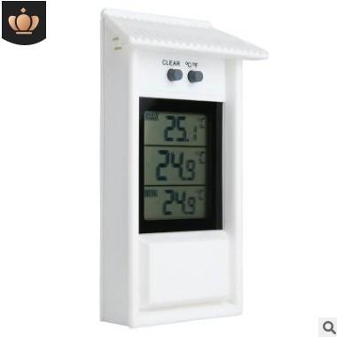 新款室外温度计电子温湿度计防水冰箱温度计大小温度值记忆功能