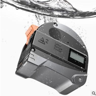 外贸红外线激光测距仪5米卷尺加30米激光测距仪卷尺充电防水防尘