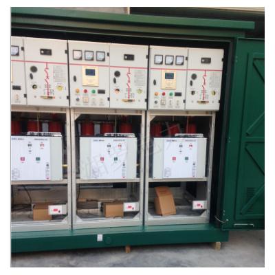 厂家 10kv高压计量柜 充气柜 环网柜 带SF6负荷开关成套带断路器