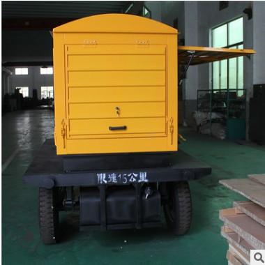 河池50KW千瓦移动拖车发电机组 工地项目小型移动电站防雨防尘