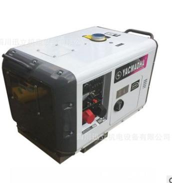 5KW柴油发电机5KW静音发电机组柴油5千瓦发电机全铜5KW发电机组