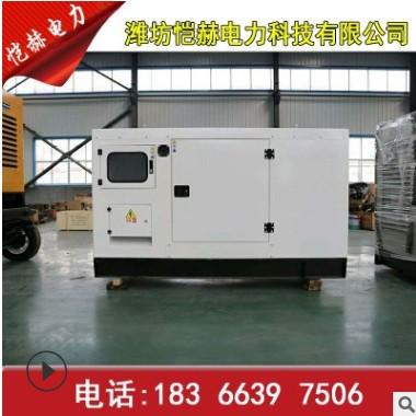50千瓦静音箱四保护发电机组 养殖场 家用小型发电机组 价格优惠