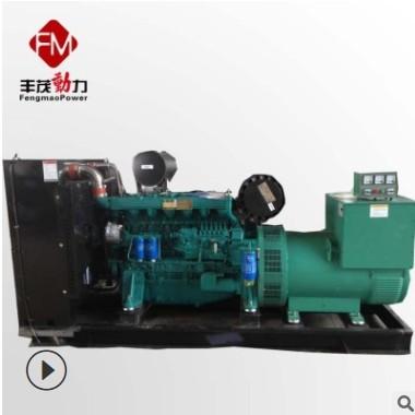 定制备用电源应急用250千瓦发电机组 潍柴250kw自动化发电机组