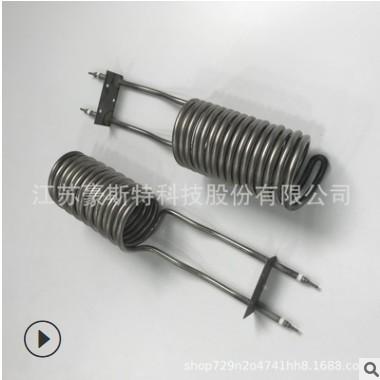 厂家定制不锈钢螺旋电加热管弹簧圈发热管木炭机盘旋电热管