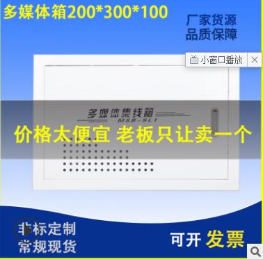 弱电箱20*30 多媒体信息箱 光纤入户箱 多媒体集线箱 配电箱定制