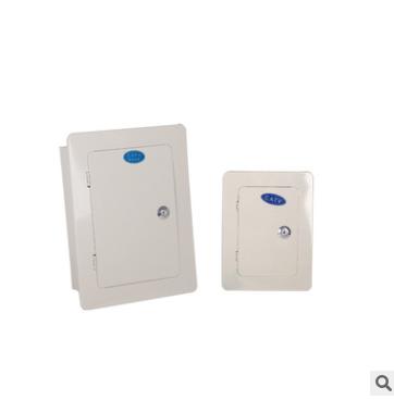 弱电布线箱 10对30对室内壁挂明装电视电话分线箱 电缆交接盒