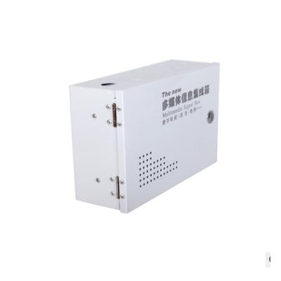 明装多媒体 明装多媒体集线箱 明装网络布线箱 明装弱电箱 20.30