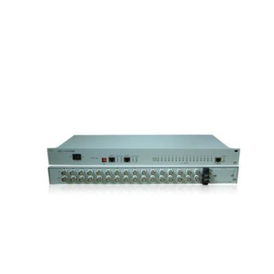 16E1协转 协议转换器 E1转网络 75欧传网口 2兆网桥 RJ45转专线