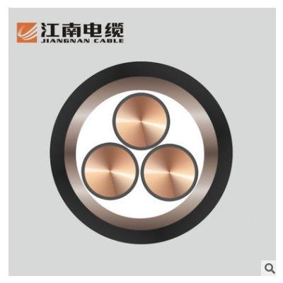 江南电缆中低压阻燃 YJV3*25 国标铜芯铠装电力电缆 厂商直营