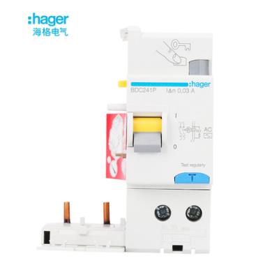 海格断路器新型电磁式剩余电流动作保护附件(AOB)BDC241P