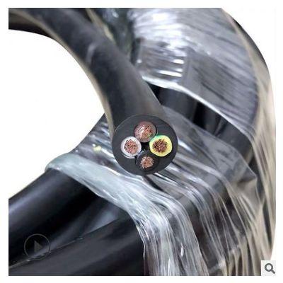 新泰YC橡胶电缆线软线包检2/3/4芯1/2.5/4平方家用户外纯铜护套线