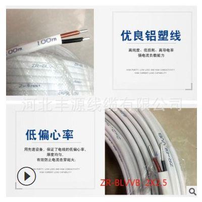 厂家批发BLVVB铝塑线国标电线电缆家用塑铝线国标铝塑线现货批发