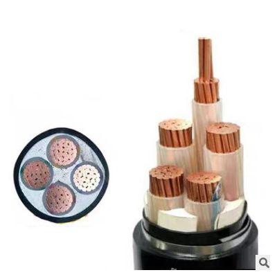 4+1带铠电缆3+1 ZC-YJV22铜芯工地家装护套线电缆电线3+2