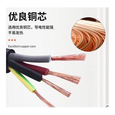 RVVP屏蔽线2 3 4 30 37芯0.5-2.5平方电缆线绝缘导线家装工业