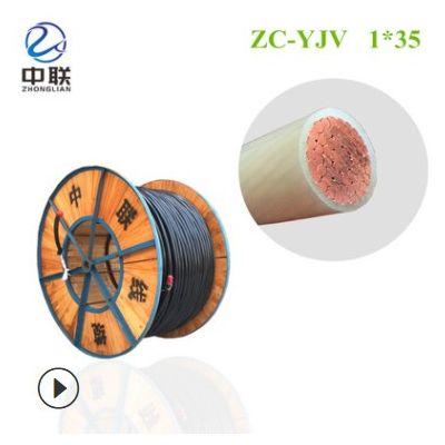 中联线缆 YJV两芯2*10/2*16/2*25/2*35铜芯线 电线电缆 硬芯