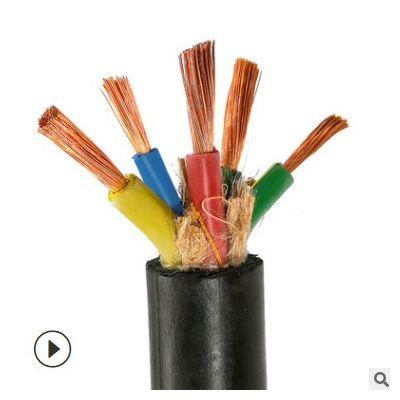 竹海YCW重型橡套电缆双层软护套线25/35平方铜芯电源线船用橡胶线