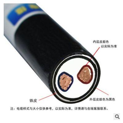 金环宇电缆 深圳厂家VV22 2*400铠装电力电缆