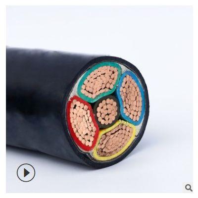 湖南国标电缆 vv vv22铜芯电力电缆 16 25平方 4芯铠装电缆线厂家