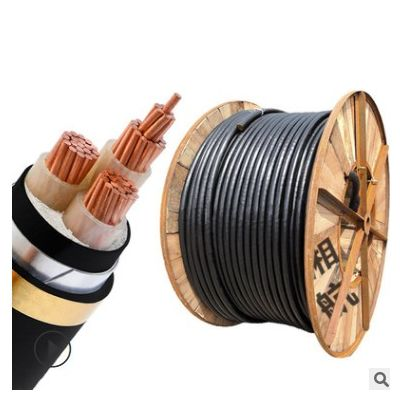 yjv电缆 国标铜芯电力电缆25平方 电缆线4芯低压阻燃电缆电线厂家