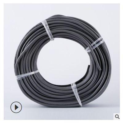 现货软电缆防冻电线黑色防冻线电源线2股电线橡胶软电缆