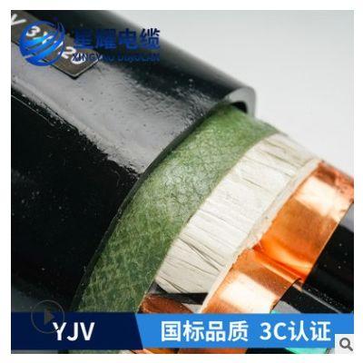 ZR-YJV32 3*50+1*25中低压交联电力电缆钢丝铠装无氧铜厂家生产