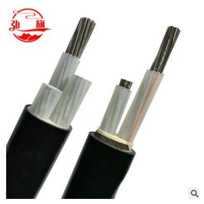 绝缘架空3芯铝芯电缆 YJLY/YJLV22型号家用阻燃电缆铠装铝芯电线