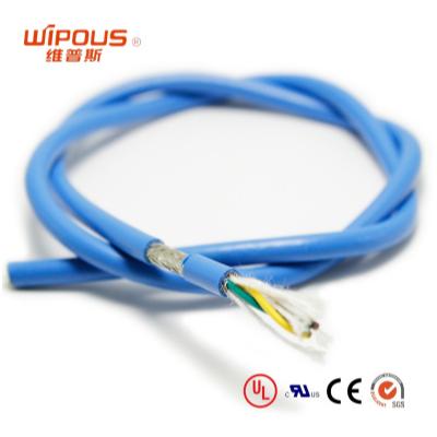 工厂设计 G-HPMCC-S 高柔性耐温105度耐弯曲千万次 拖链电缆